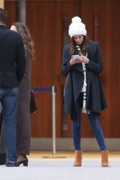 Nina Dobrev Casual Style - at Toronto