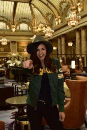 Nina Dobrev - Heading to Super Bowl 50 in San Francisco, CA