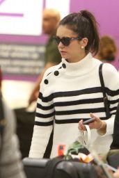 Nina Dobrev - Pearson International Airport in Toronto 2/19/2016
