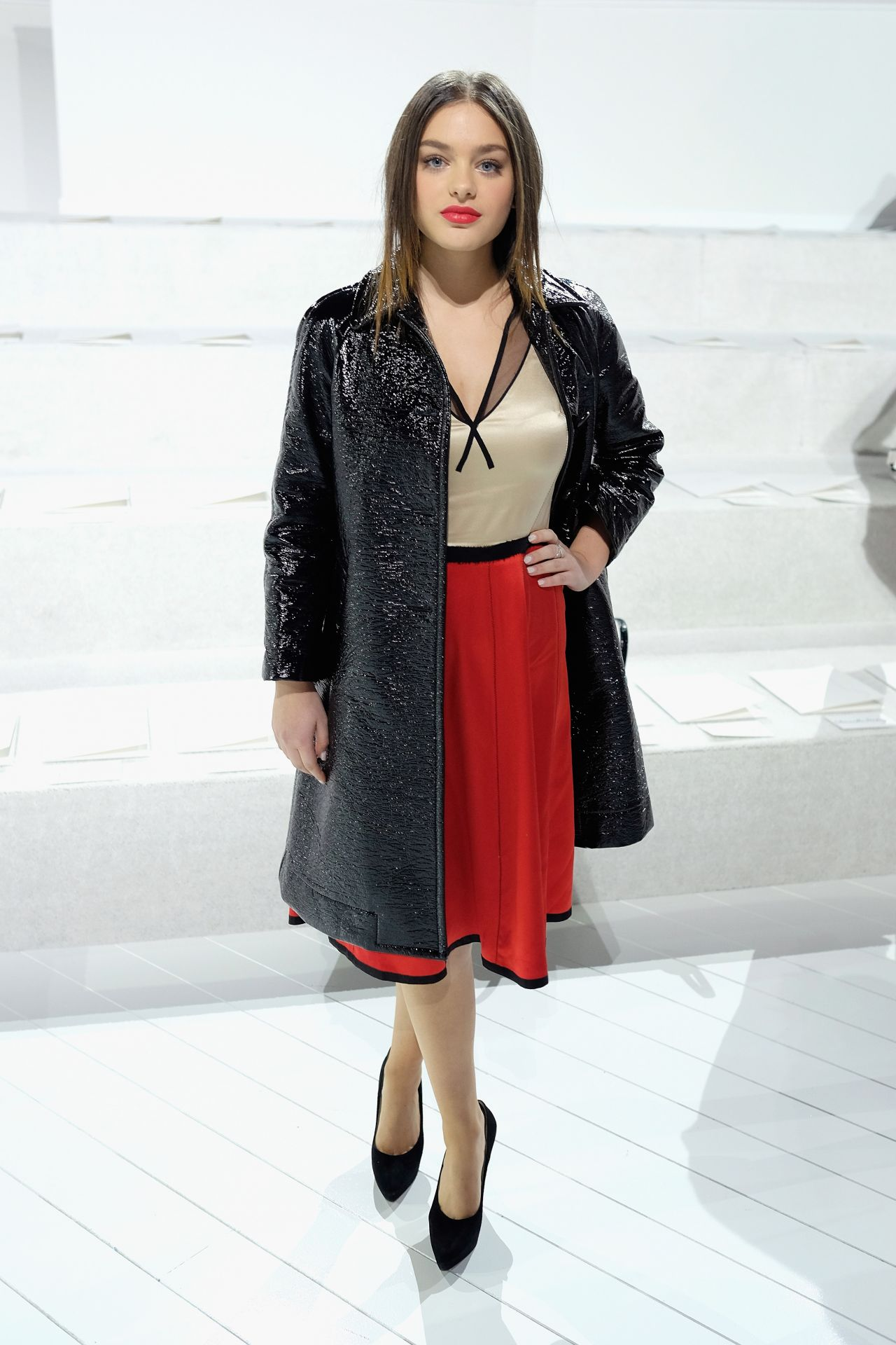 Odeya Rush – Marc Jacobs Show – New York Fashion Week 2/18 ...