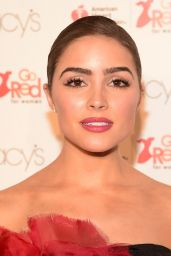 Olivia Culpo - Go Red For Women Red Dress Collection 2016 in NYC
