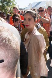 Olivia Munn - Arriving at Super Bowl 50 in San Francisco 2/7/2016