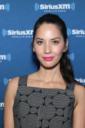 Olivia Munn - SiriusXM Set at Super Bowl 50 Radio Row in San Francisco, CA 2/5/2016