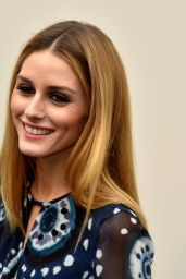 Olivia Palermo - Burberry Prorsum Womenswear Catwalk Show in London 2/22/2016