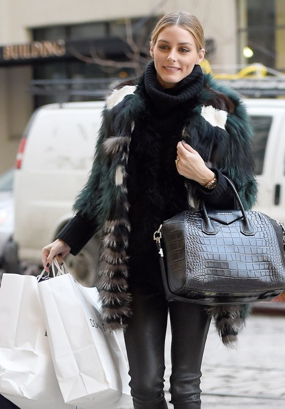Olivia Palermo - Out in Brooklyn 2/9/2016