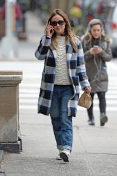 Olivia Wilde Street Style - New York City 2/17/ 2016
