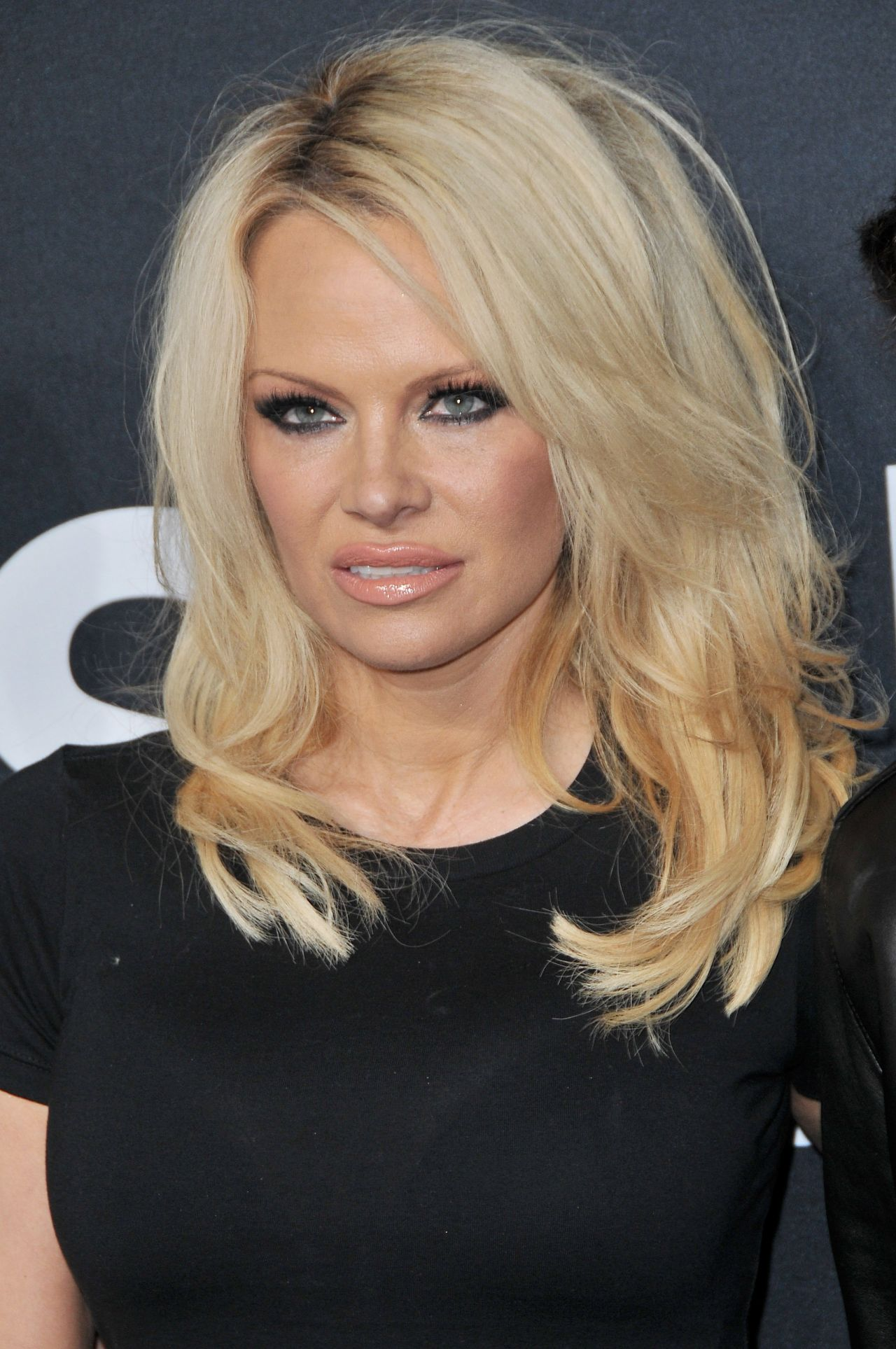 Pamela Anderson – Saint Laurent Show at The Palladium in Los Angeles ...