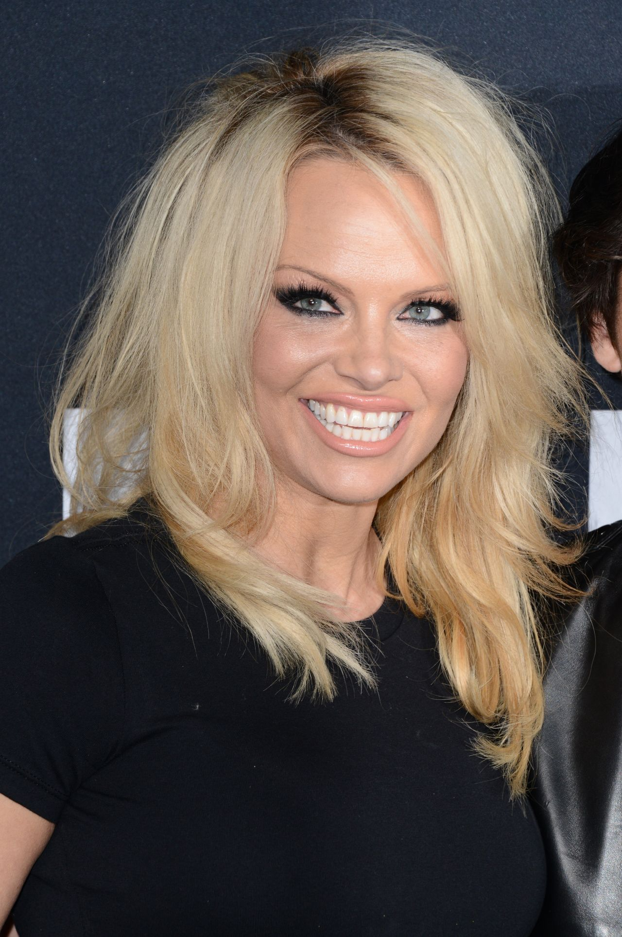 Pamela Anderson – Saint Laurent Show at The Palladium in ... Pamela Anderson