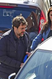 Penelope Cruz - Leaving a Hospital in Madrid, Spain 2/23/2016