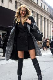 Petra Nemcova Style - Out in Manhattan 2/12/2016