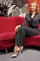 Peyton List - Diane Von Furstenberg Fall 2016 Fashion Show - NYFW 2/14/2016