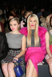 Peyton List - Jeremy Scott Fall 2016 Fashion Show - New York Fashion Week 2/15/2016