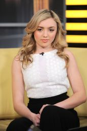 Peyton Roi List - Good Day New York Fox 5 in New York City 2/18/2016