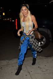 Pia Mia Perez Night Out Style - Nice Guy in West Hollywood 2/22/2016