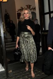 Pixie Lott Style -Leaving The Playhouse Theatre in London, February 2016