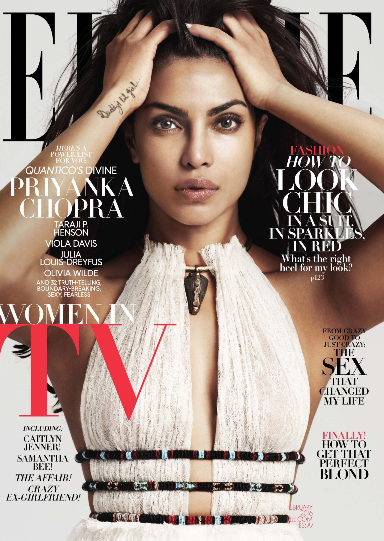 Elle Magazine France February March: ELLE Magazine Cover February 2016