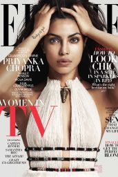 Priyanka Chopra - ELLE Magazine Cover February 2016
