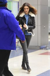 Rachel Weisz Casual Style - JFK Airport in NYC 2/2/2016