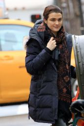 Rachel Weisz is Ready for Sweater Weather - NYC, February 2016