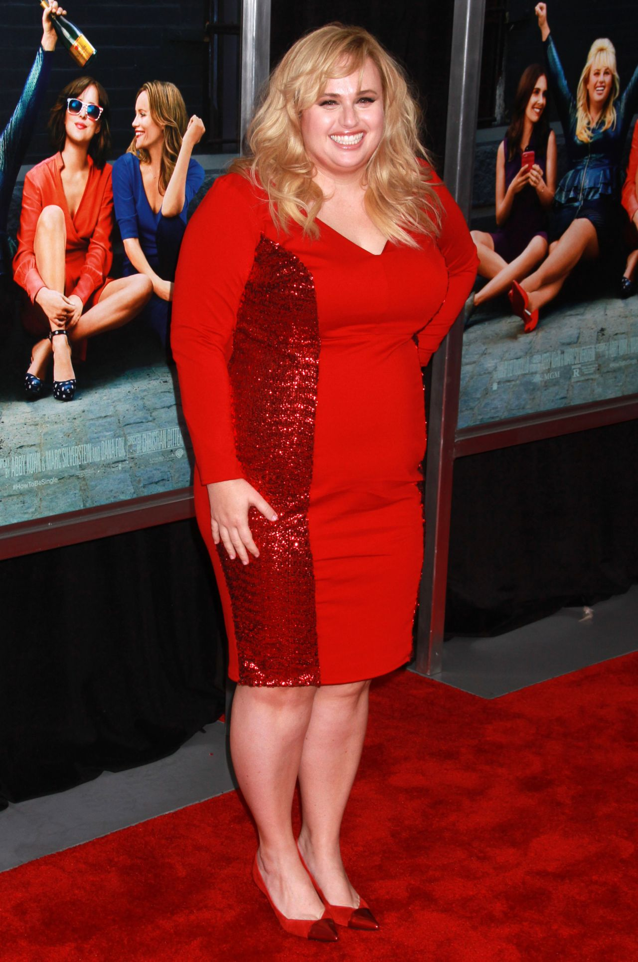 Rebel Wilson €� 'how To Be Single' Premiere In New York