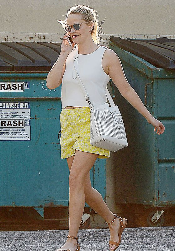 Reese Witherspoon - Out in Brentwood, February 2016