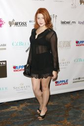 Renee Olstead - 2016 Red Carpet Style and Beauty Lounge in Beverly Hills