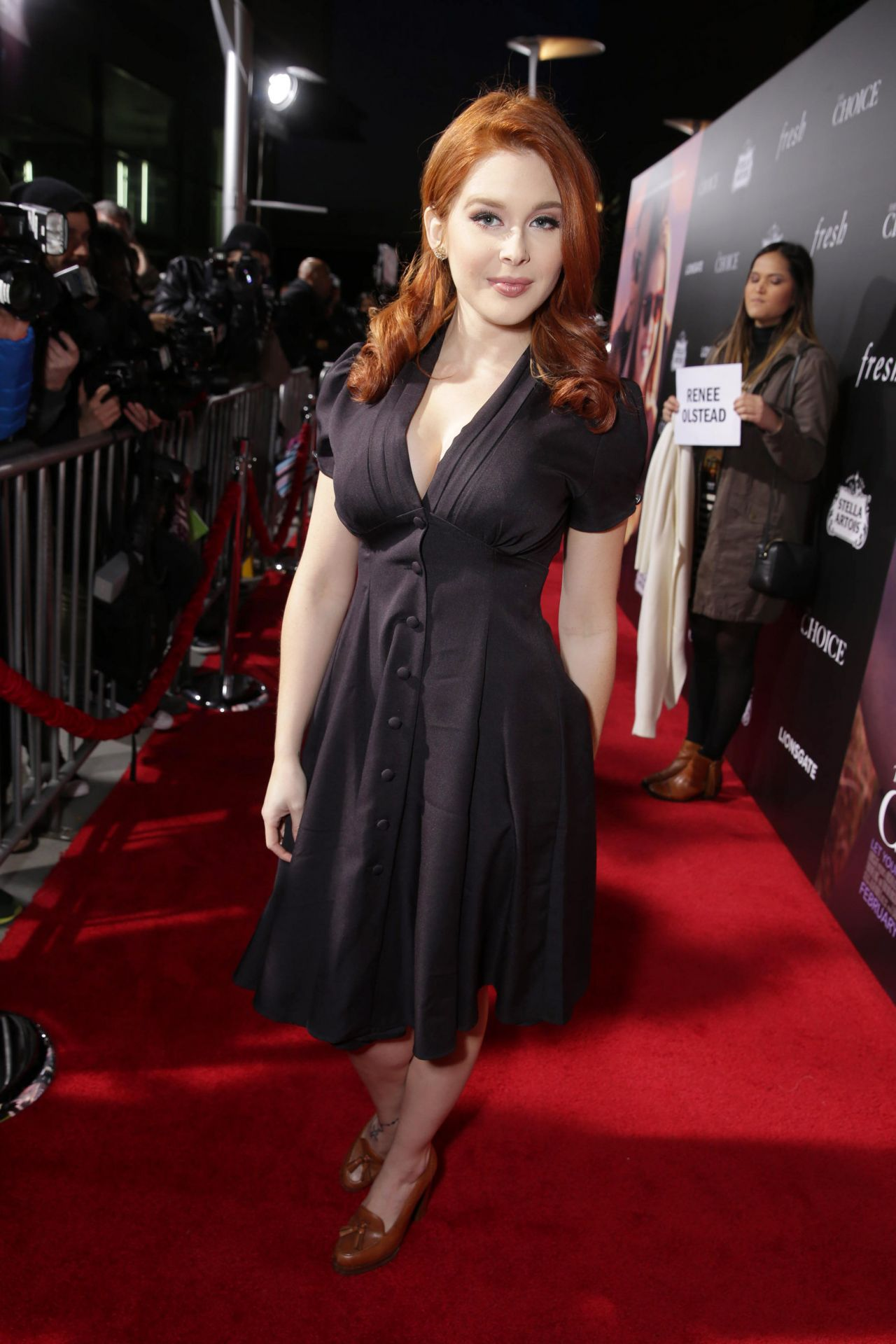 Renee olstead the choice premiere in hollywood