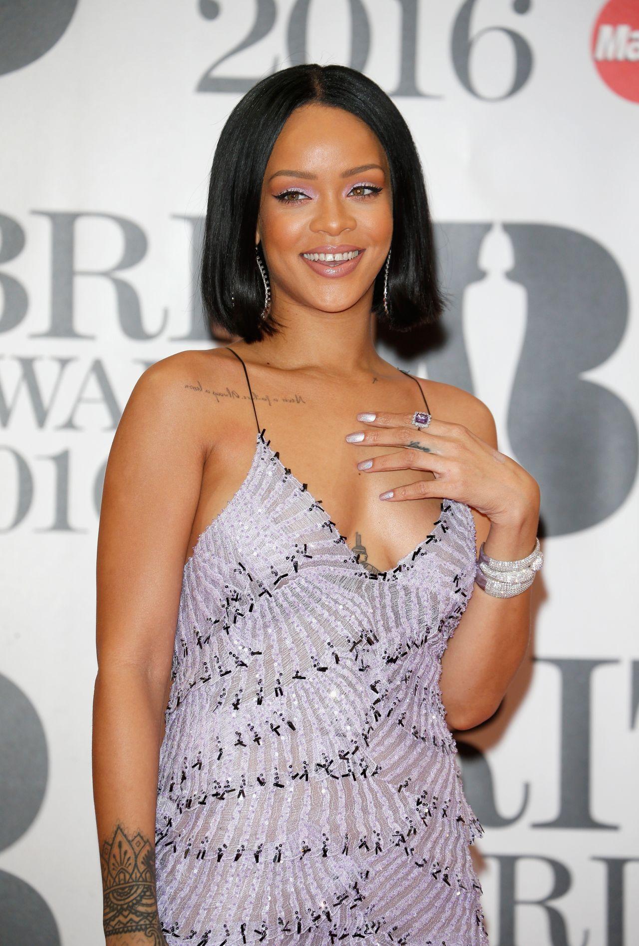 Rihanna - BRIT Awards 2016 in London Rihanna 2016