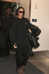 Rihanna - LAX Airport in Los Angeles, CA 2/10/2016