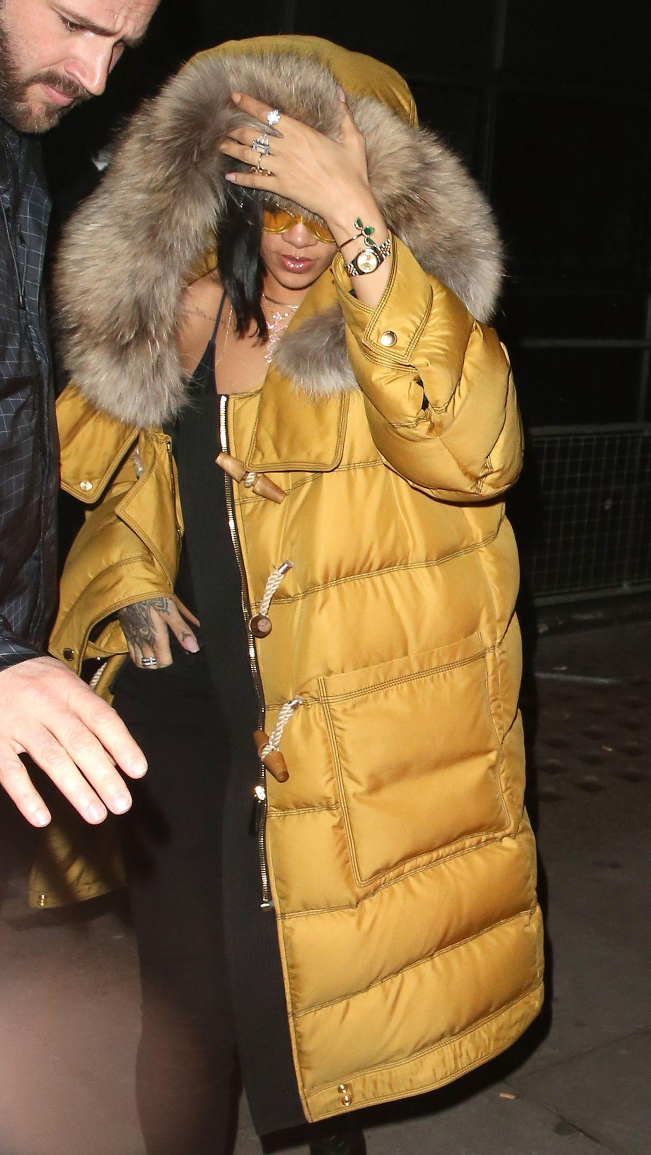 Rihanna libertine nightclub in london uk 2 22 2016