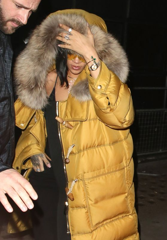 Rihanna - Libertine Nightclub in London, UK 2/22/2016