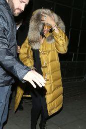 Rihanna - Libertine Nightclub in London, UK 2/22/2016