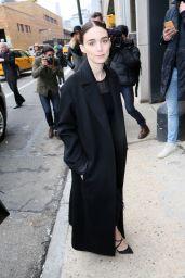 Rooney Mara - BOSS Women Fall 2016 Fashion Show - NYFW 2/17/2016