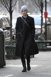 Rooney Mara Winter Style - Out in New York City, February 2016
