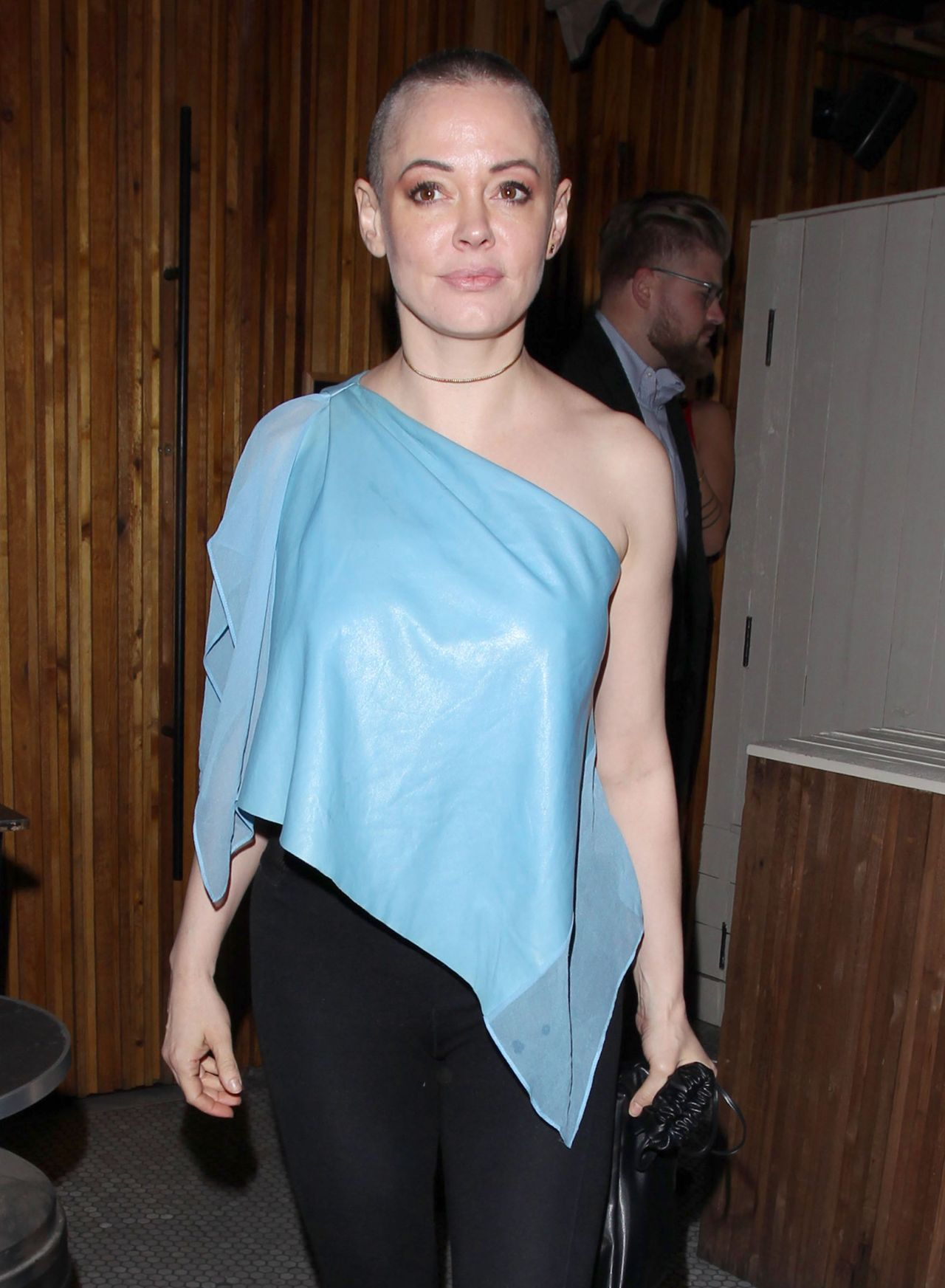 Rose Mcgowan Night Out Style At The Nice Guy In West