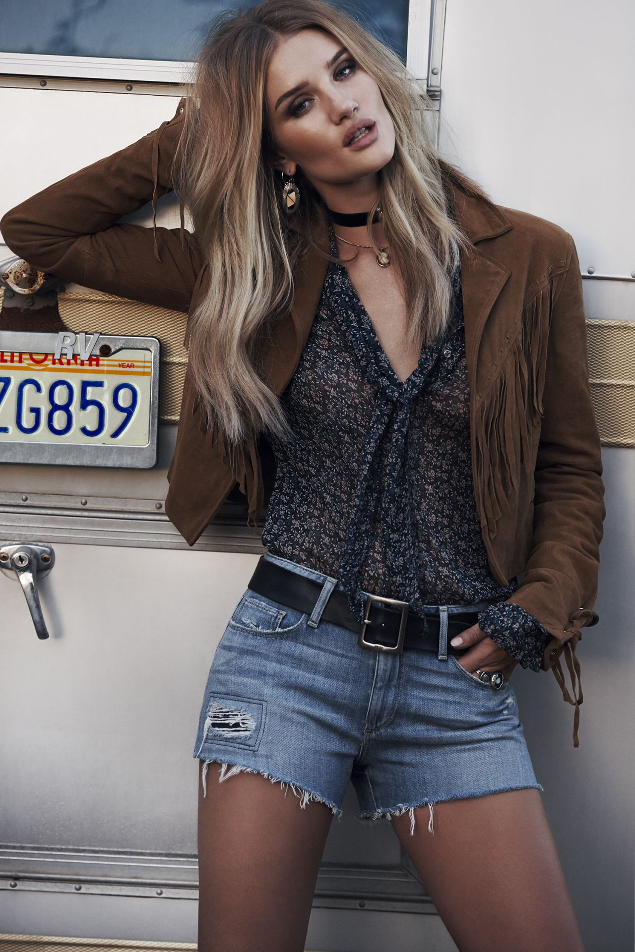 Rosie Huntington-Whiteley – Paige Denim Spring Summer 2016 Photos