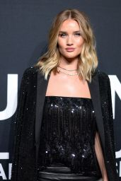 Rosie Huntington-Whiteley – Saint Laurent Show at The Palladium in Los Angeles 2/10/2016