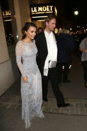 Samantha Barks - Leaves the Traditional Opera Ball in Vienna, February 2016