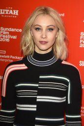 Sarah Gadon - 1.22.63 Premiere - 2016 Sundance Film Festival in Park City, Utah