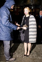 Sarah Gadon Style - at the Hotel Regent in Berlin, February 2016