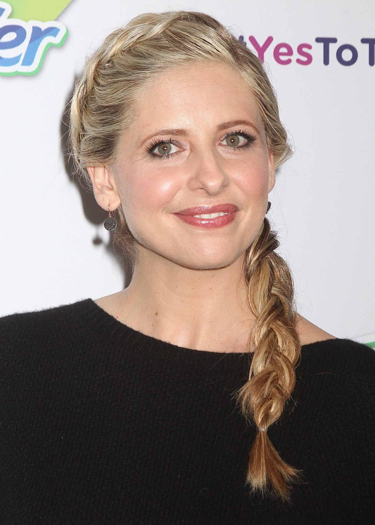 Sarah michelle gellar swiffer yes to the mess event in new