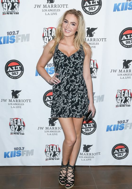 Saxon Sharbino - KIIS FM and REAL 92.3 Celebrate The 2016 Grammy Awards at JW Marriot in Los Angeles