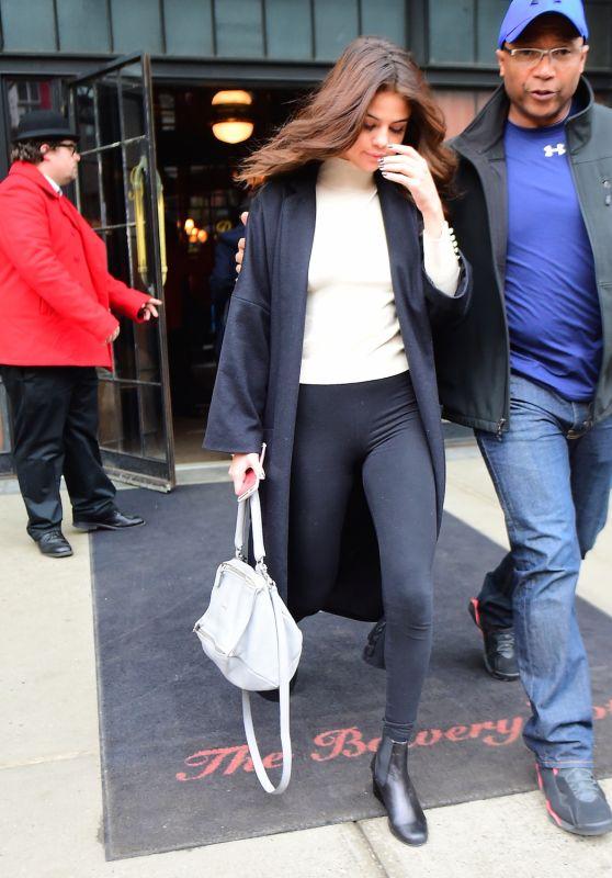 Selena Gomez - Leaving Her Hotel in New York City 2/9/2016
