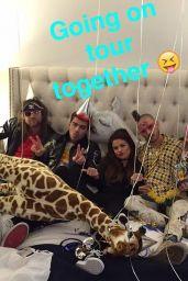 Selena Gomez Social Media Pics, February 2016