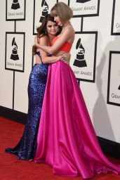 Selena Gomez & Taylor Swift – 2016 Grammy Awards in Los Angeles, CA