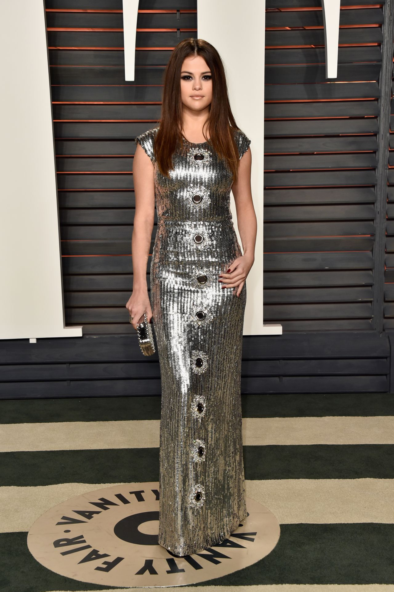 selena gomez � vanity fair oscar 2016 party in beverly