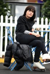 Selma Blair at a Skating Rink in Santa Monica 1/30/2016