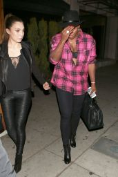 Serena Williams Night Out Style - The Nice Guy in West Hollywood 2/3/2016