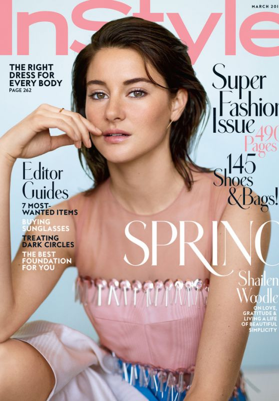 Shailene Woodley - InStyle Magazine US March 2016 Issue