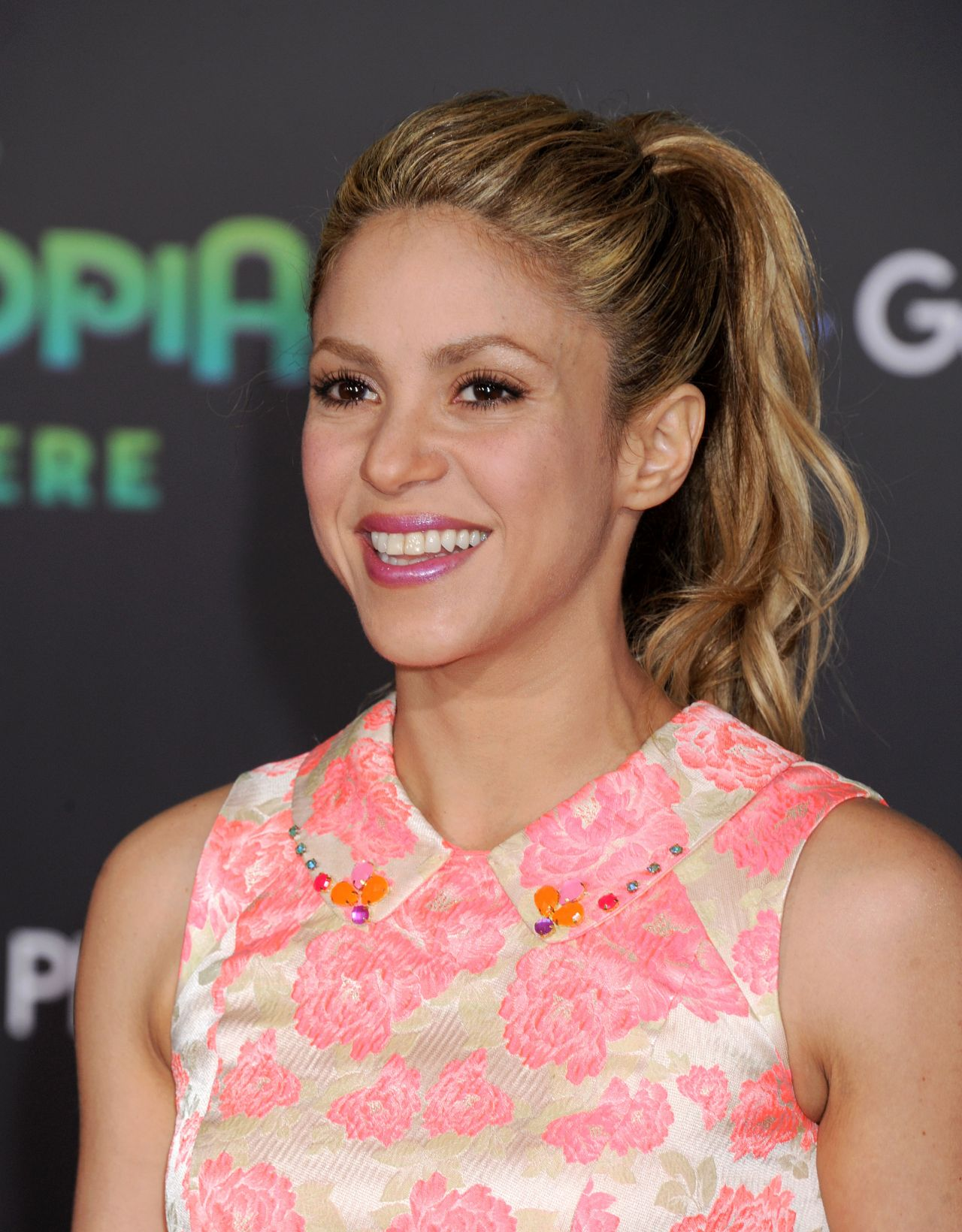 Shakira Zootopia Premiere In Hollywood Ca